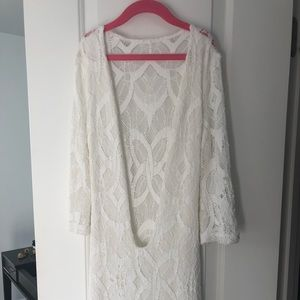 Nighcap Spanish Lace Mini Dress New Size 1